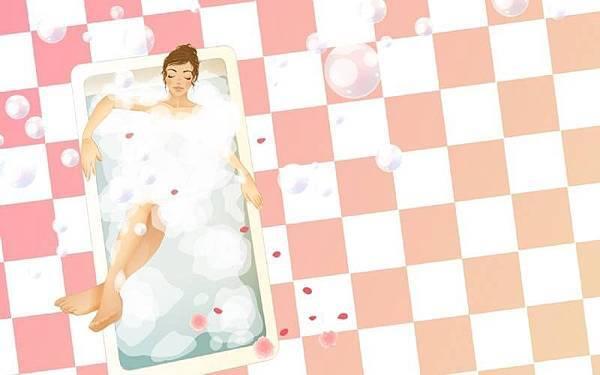 沐浴排除水腫