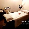 這次貝寶體驗的是一個人獨立的SPA房,感覺非常安靜且私密