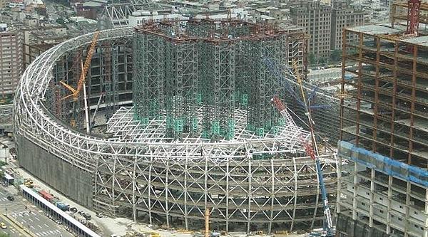 大巨蛋安全-鈦板打造堅固大巨蛋 台北最新地標2