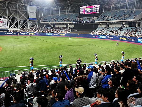 大巨蛋棒球場vs韓國高尺巨蛋