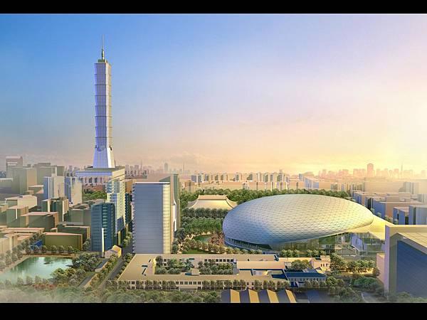 台北大巨蛋國際賽場地