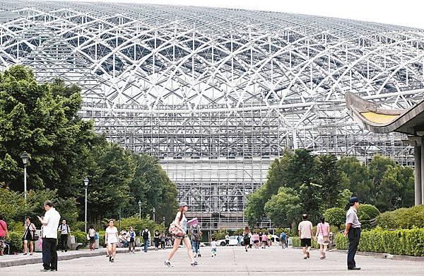 台北大巨蛋國際賽場地共同為台灣棒運努力