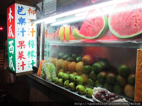 延平北水果攤