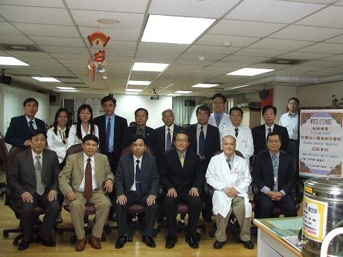 98/04/16越南貴賓及國泰綜合醫院參訪