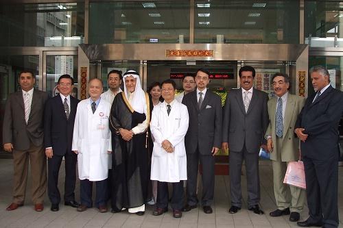 980611 沙烏地阿拉伯突奇親王至中醫院區參訪