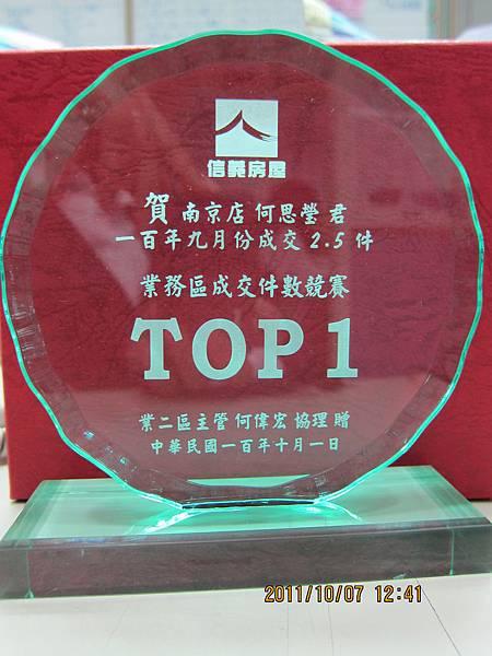 區成交TOP1