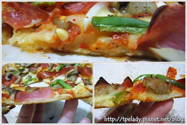 達美樂千層pizza