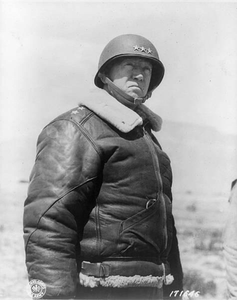 GeorgeSPatton喬治·巴頓中將-美國陸軍第七集團軍指揮官-1943