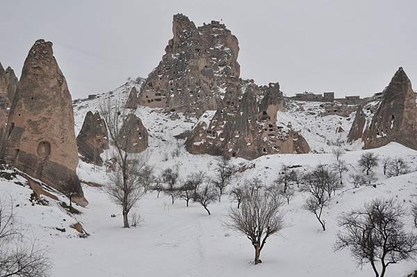 卡帕多奇亞第一映像「堡壘」全景