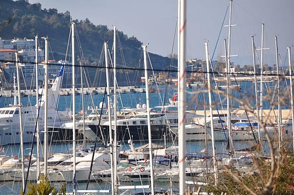 飯店遠望庫莎達西岸邊遊艇