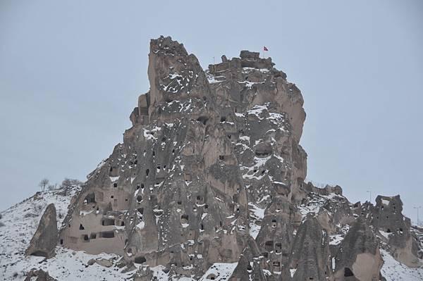 卡帕多奇亞地區入口的「堡壘」