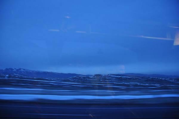 到達卡帕多奇亞前的車窗外即景