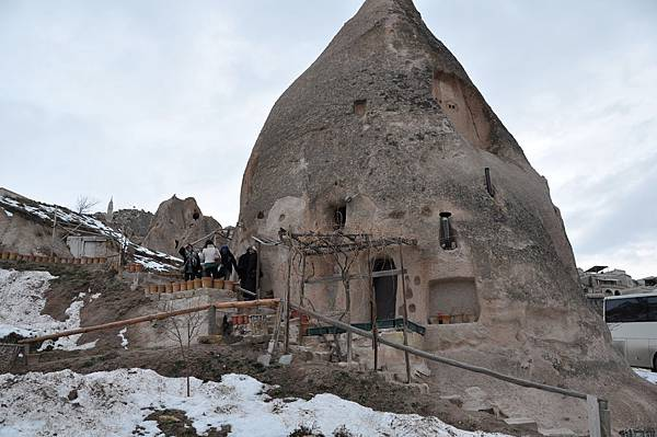 卡帕多奇亞的洞穴住家外