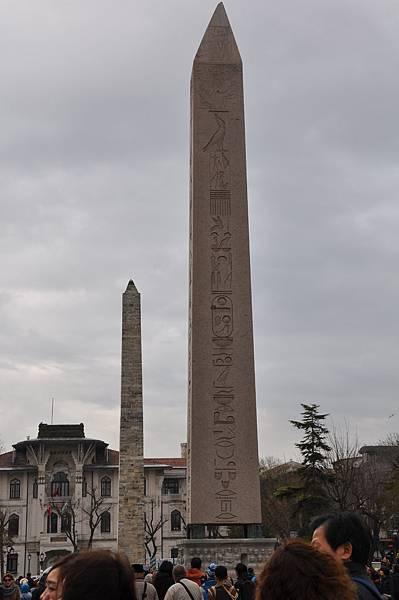 古羅馬競技場上的石埤