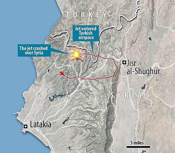 敘利亞Syri-俄國飛機土耳其打下.JPG