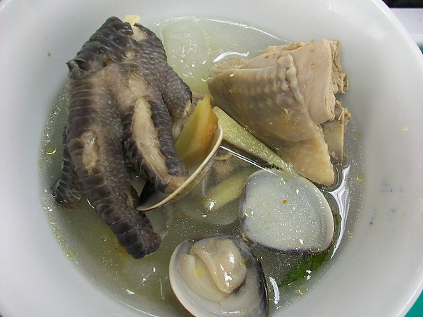 冬瓜蛤蠣燉雞湯