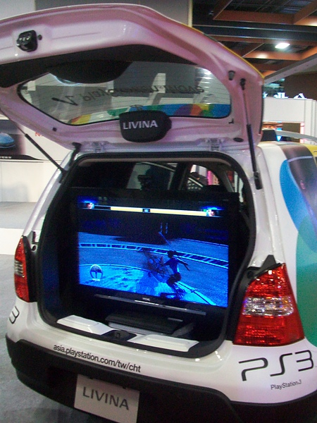 NISSAN NEW LIVINA PS3版