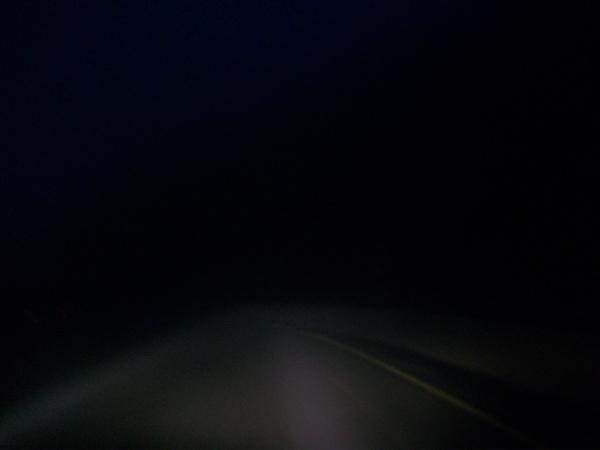 恐怖的合歡山下山路段
