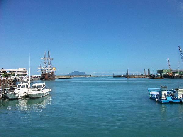 好美的港口風景