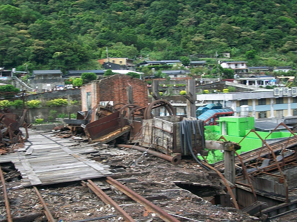 廢棄運煤軌道
