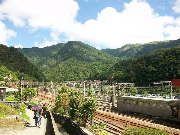 鐵道與遠山