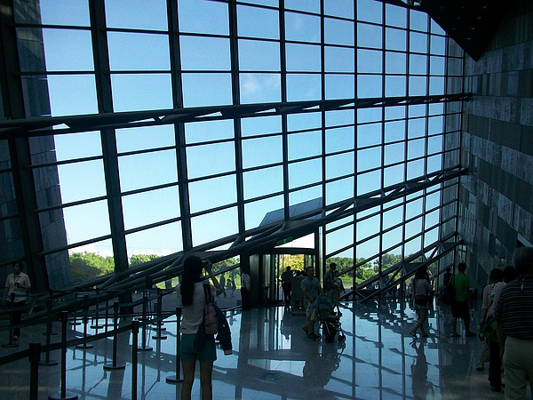 蘭陽博物館大廳