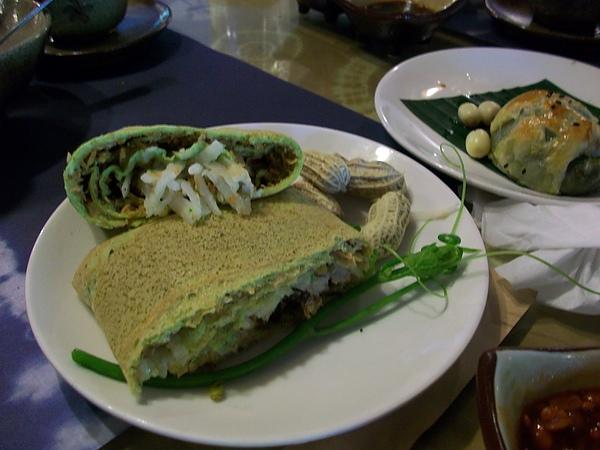 蔬菜法式蛋餅捲