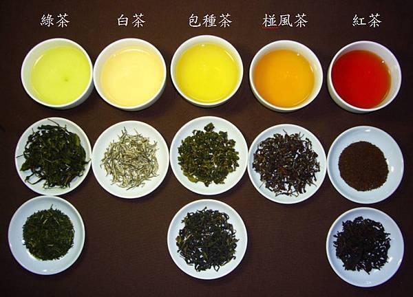 茶葉色澤與滋味