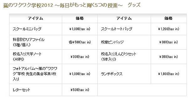 2012 waku goods