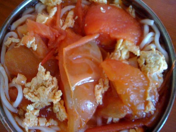 西紅柿雞蛋麵