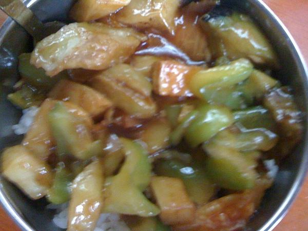 土豆牛肉蓋飯