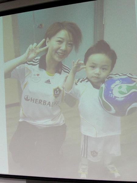 利漢玲總裁與兒子