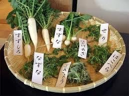 日本春天七草