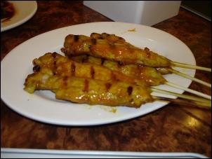 串燒沙嗲雞