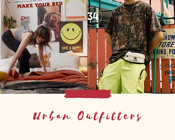 Urban Outfitters - 美国复古风格服饰品牌