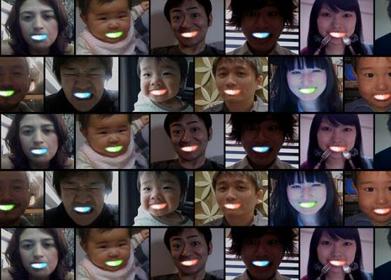 日本 LED牙套