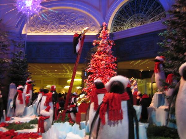 百樂宮2007聖誕節主題--企鵝