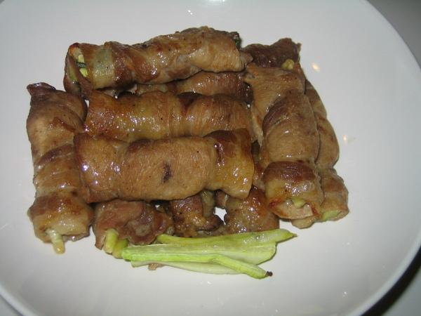 香蔥豬肉卷