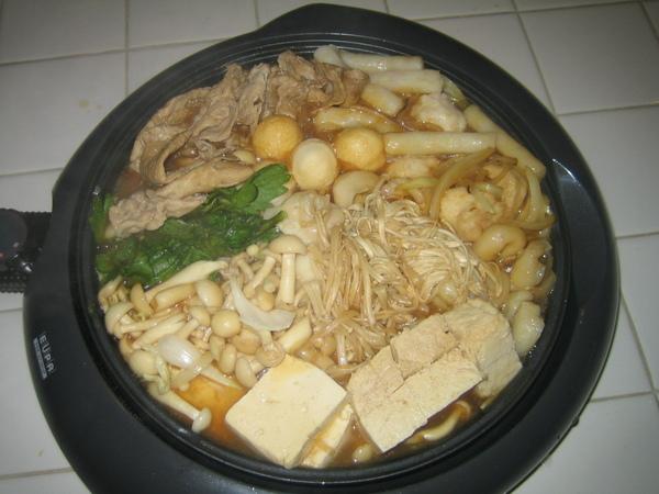 豬肉壽喜燒-1