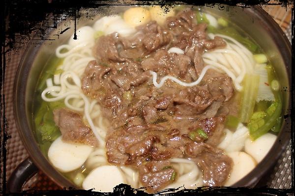 沙茶牛肉湯麵