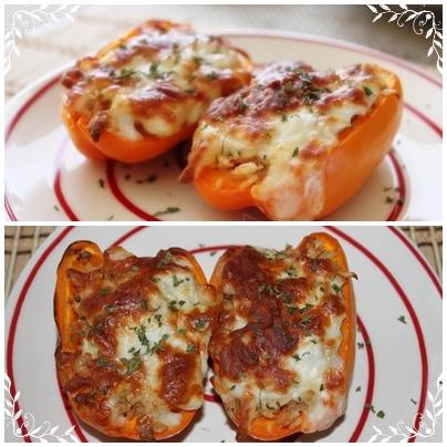 甜椒焗烤飯