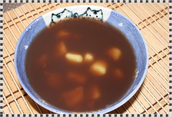 紅豆地瓜圓湯