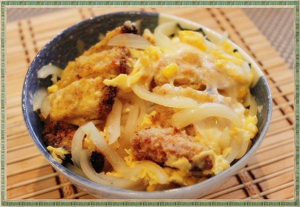 日式豬排蓋飯-1