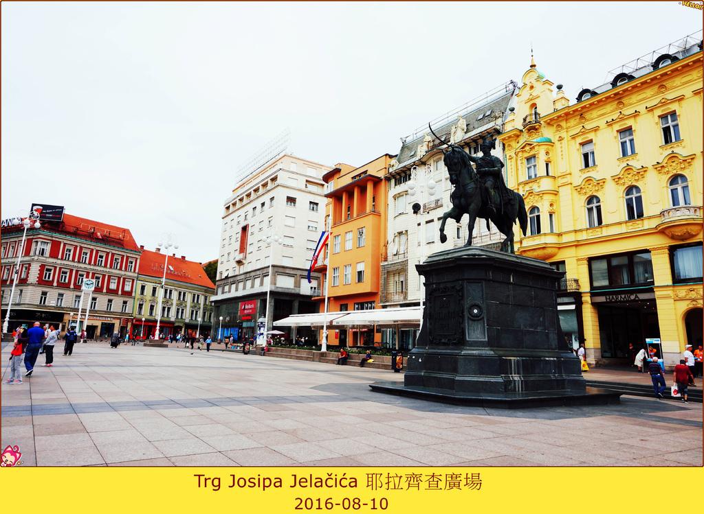024 克羅地亞札格勒布耶拉齊查廣場+耶拉齊查銅像 (17)_副本.jpg