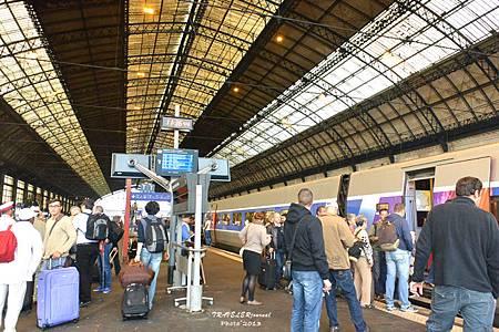 波爾多車站月台
