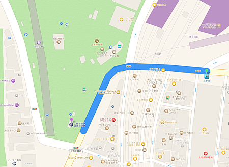 上野站到公園步行.png