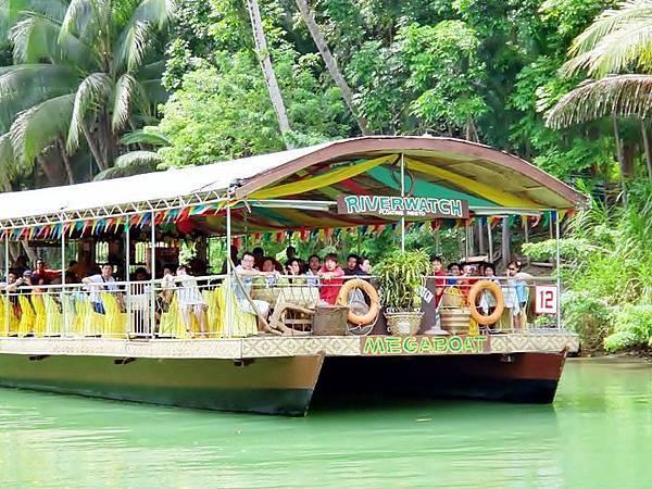 竹筏船遊河
