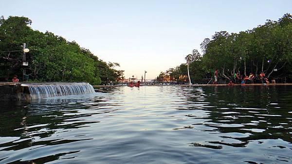 露天海水溫泉