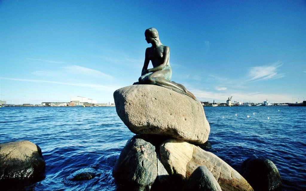 哥本哈根美人魚