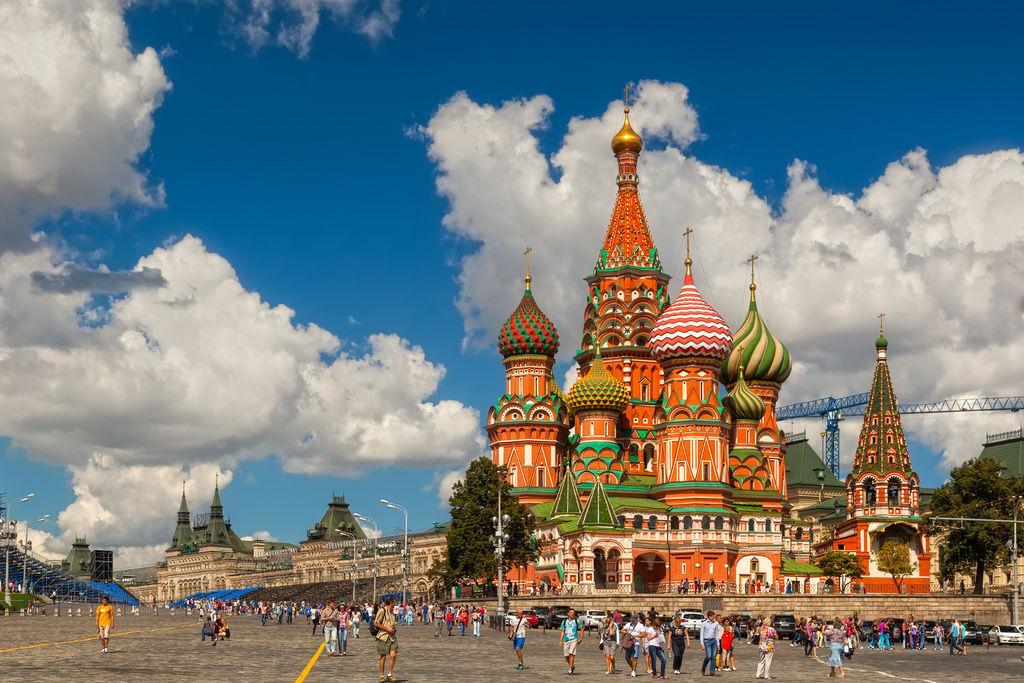 俄羅斯聖巴西爾大教堂